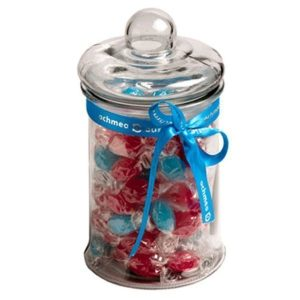 2L GLASS JAR filled with Boiled Lollies CACP007 Clear