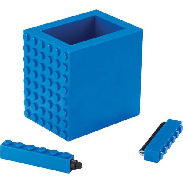 3 in 1 Tech Desktop Set Pen Holder A1010BL Blue 2