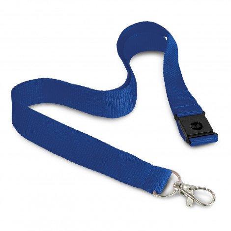 3D Logo Lanyard 116612 Blue