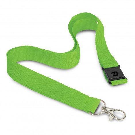 3D Logo Lanyard 116612 Lime Green