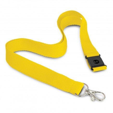 3D Logo Lanyard 116612 Yellow