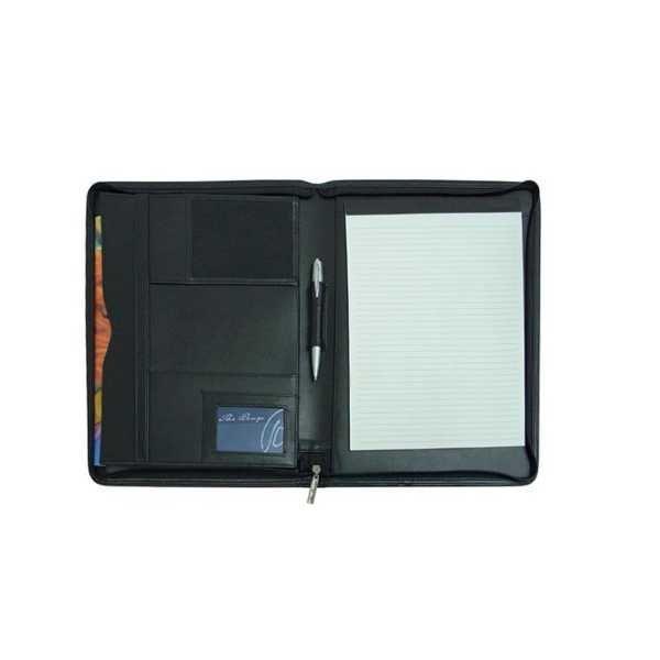 A4 Folder with Pad 426BK Black Open