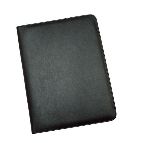 A4 Pad Cover 425BK Black Front