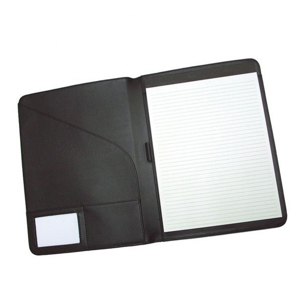 A4 Pad Cover 425BK Black Open