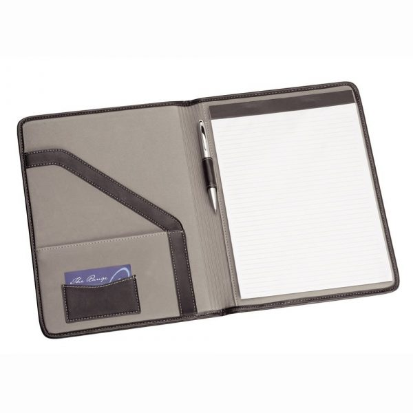 A4 Pad Cover 9174BK Black Open