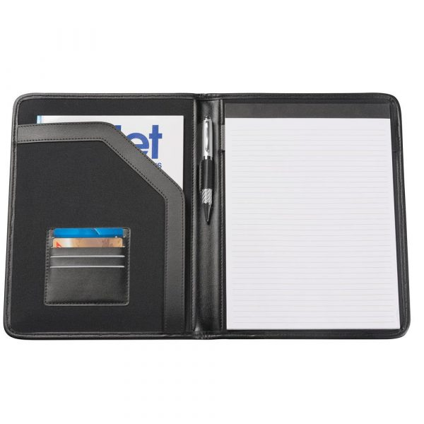 A4 Pad Cover 9202BK Black Open