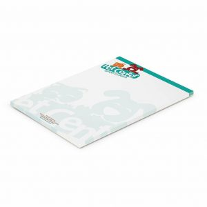 A5 Note Pad 115824 White with Full Colour Branding