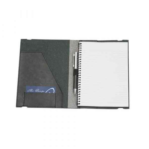 A5 Pad Cover 9142BK Black Open