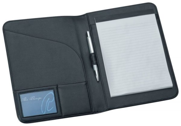 A5 Pad Cover 9165BK Black Open