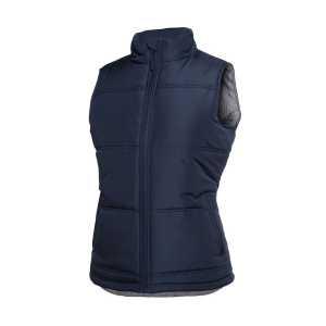 Adventure Puffer Vest Womens 3ADV1 Navy