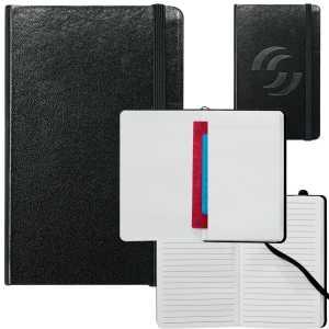 Ambassador Pocket Bound JournalBook CA9190BK Black