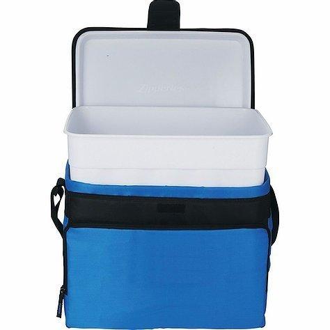 Arctic Zone 30 Can Zipperless HardBody Cooler AZ1007BL Blue Open Container