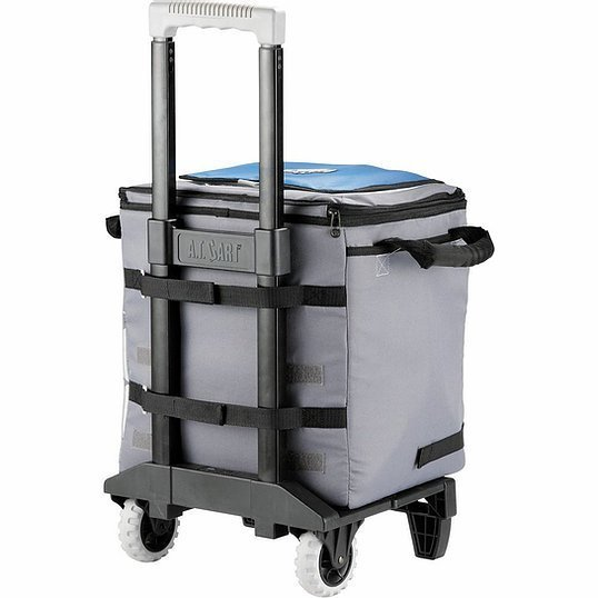 Arctic Zone 50 Can Cooler AZ1003GY Grey Blue Back