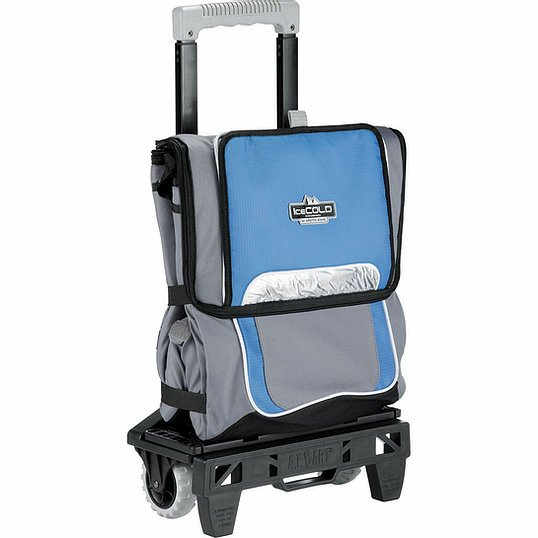 Arctic Zone 50 Can Cooler AZ1003GY Grey Blue Folded
