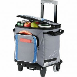Arctic Zone 50 Can Cooler AZ1003GY Grey Blue Open