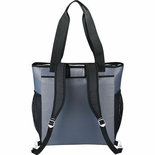 Arctic Zone 50 Can Outdoor Backpack Cooler AZ1009GY Blue Back