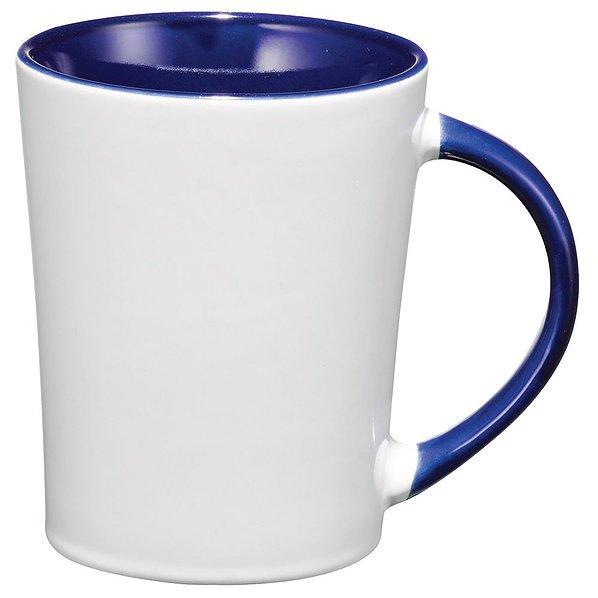 Aura Ceramic Mug 4055BK White Blue