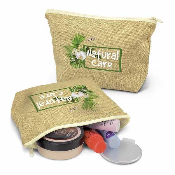 Ava Cosmetic Bag 116871 Jute