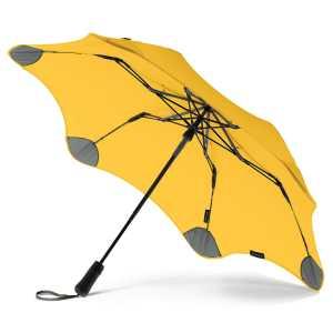 BLUNT Metro Umbrella CA118435 Yellow Open Side View