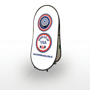 Ball Target Pop Up CA13236 Various Colours Branded 2