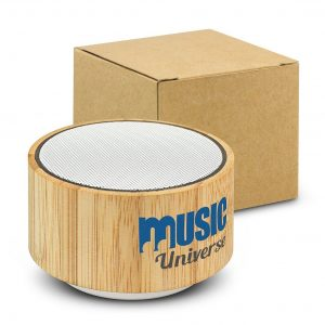 Bamboo Bluetooth Speaker CA116648 Natural with Gift Box