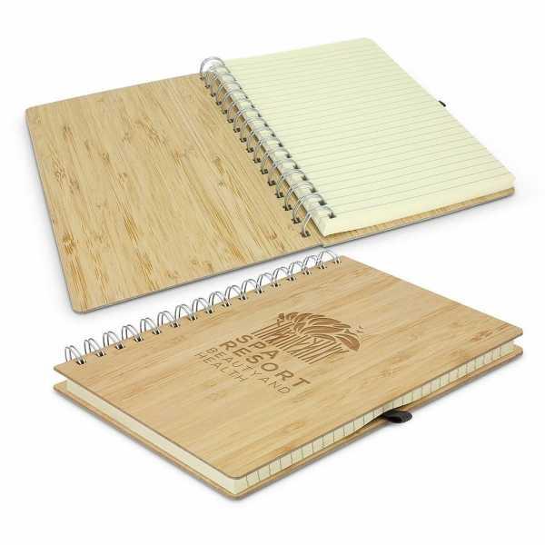 Bamboo Notebook 116213 Natural Open