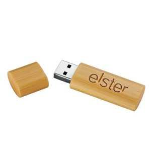 Bamboo USB Flash Drive USB8017 Natural