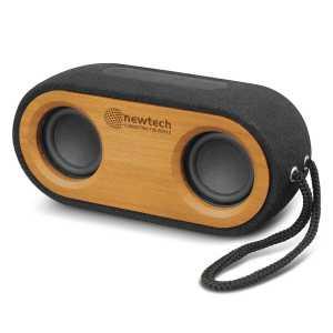 Bass Bluetooth Speaker CA116744 Wood and Black