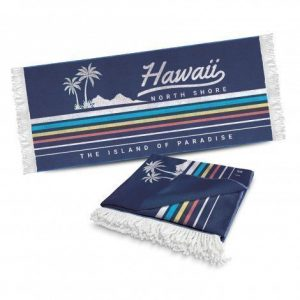 Beach Towel With Tassels CA117218 Branded