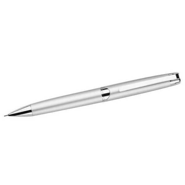 Berlin Smooth Twist Action Mechanical Pencil 669SL Silver e1622610580533