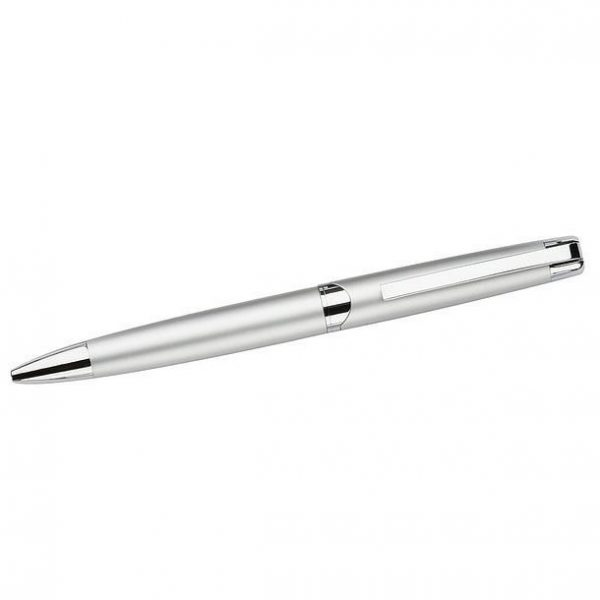 Berlin Twist Action Metal Ball Pen 670SL Silver e1622610826978