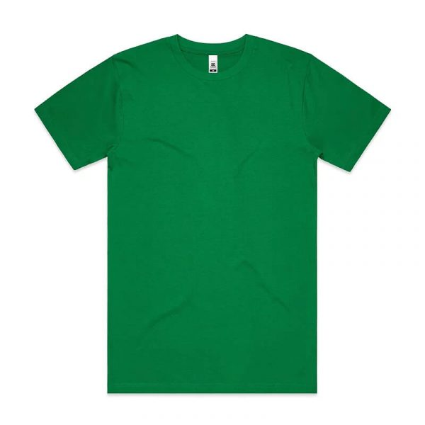 Block T Shirts Unisex 5050 Bright Green