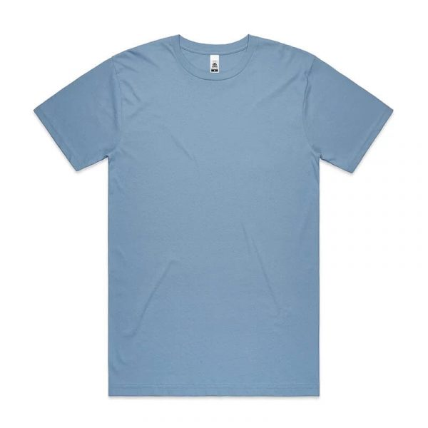 Block T Shirts Unisex 5050 Light Blue