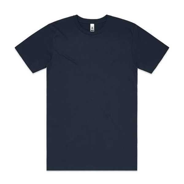 Block T Shirts Unisex 5050 Navy