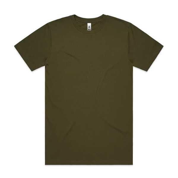 Block T Shirts Unisex 5050 Olive
