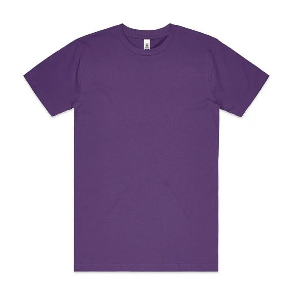 Block T Shirts Unisex 5050 Purple