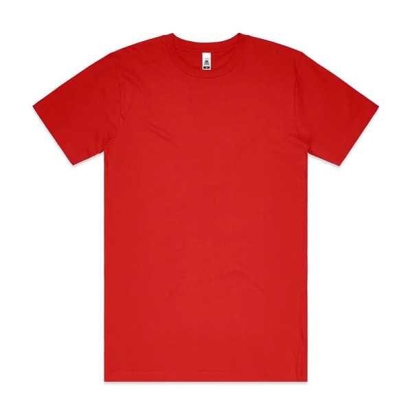 Block T Shirts Unisex 5050 Red