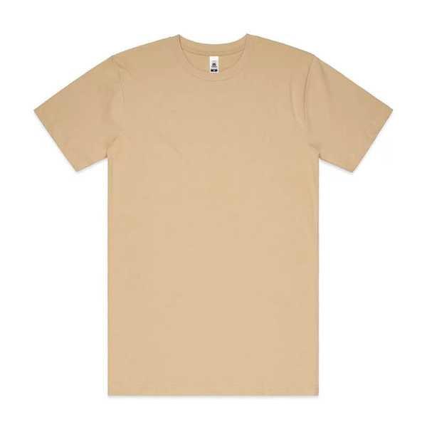 Block T Shirts Unisex 5050 Tan