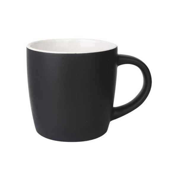 Boston Ceramic Coffee Mugs Black and White