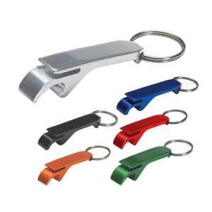 Bottle Opener Key Ring CA186SL Various