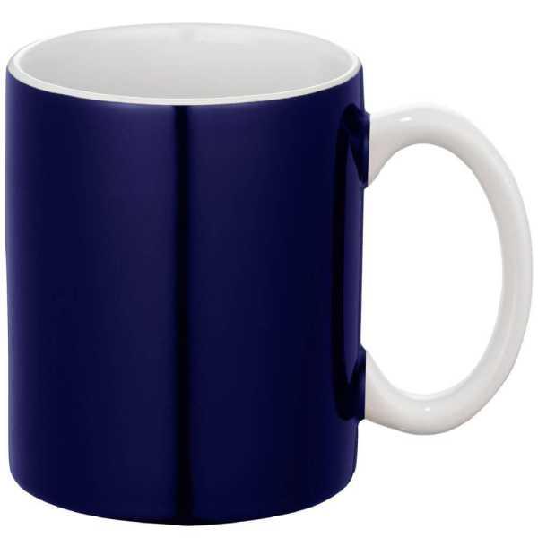 Bounty Ceramic Coffee Mugs Blue