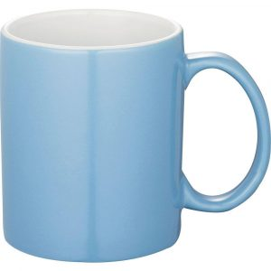 Bounty Ceramic Coffee Mugs Pale Blue