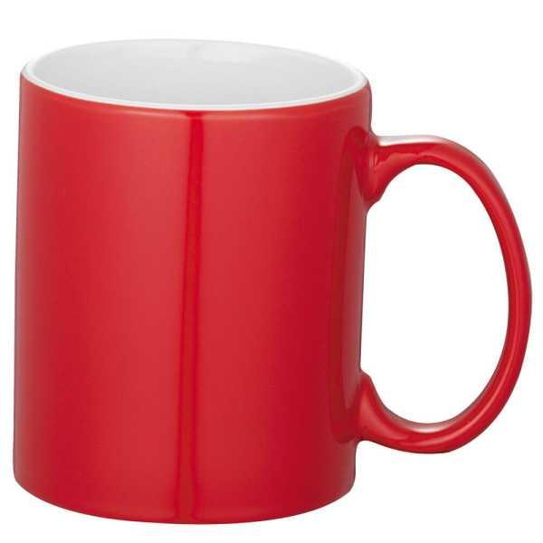 Bounty Ceramic Coffee Mugs Red