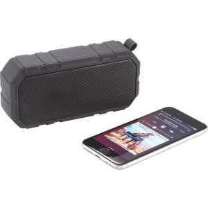 Brick Outdoor Waterproof Bluetooth Speaker 7779BK Black