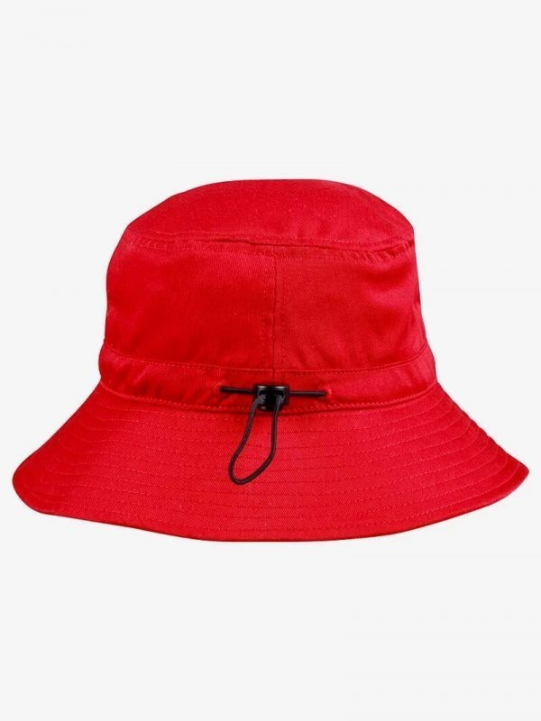 Bucket Hat With Toggle H1033 Red