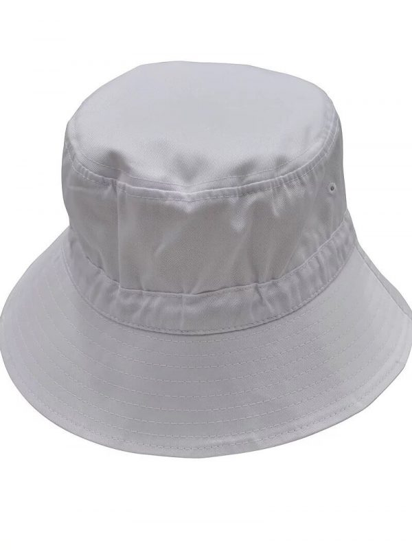 Bucket Hat With Toggle H1033 White