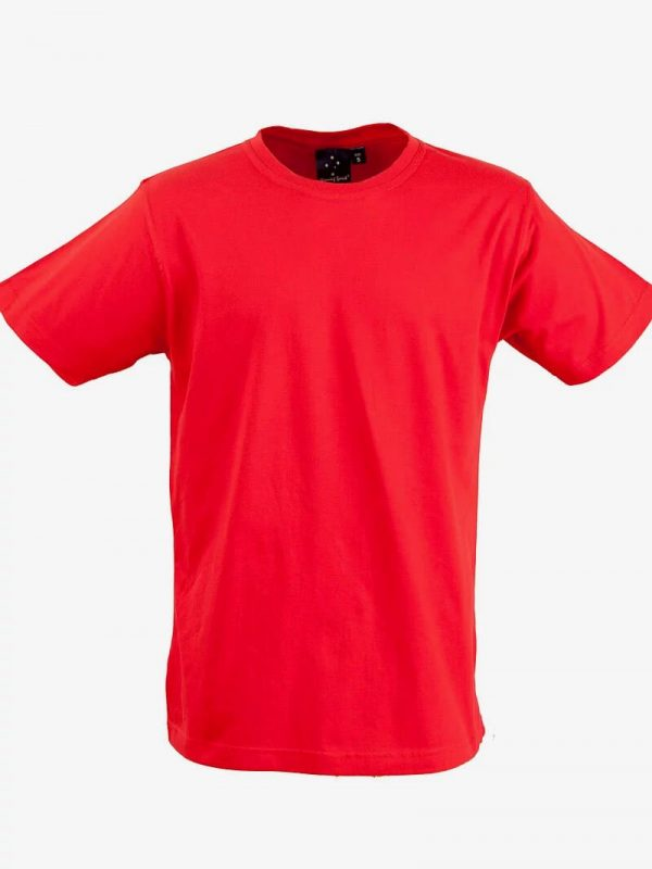 Budget T Shirts Unisex Red
