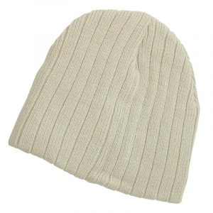 Cable Knit Beanies 4235 Cream