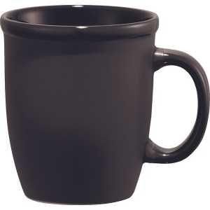 Cafe Au Lait Ceramic Mug 4079BK Black