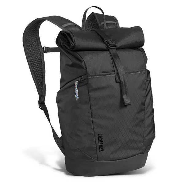 CamelBak® Pivot Roll Top Backpack 118647 Black Front